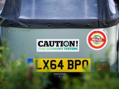 Stickers you don't expect on a Caterham