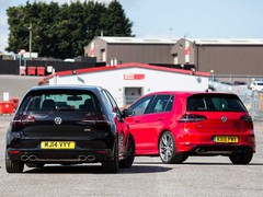 A fast Golf R, and one with 150hp more...