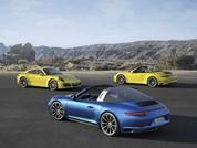 New Porsche 911 Carrera 4 and Targa 4