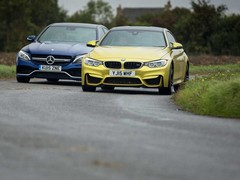 Merc probably better, BMW more thrilling
