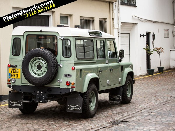 Land Rover Defender 110 Heritage Driven Pistonheads