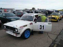 Still a lot of Escorts in rallying - good!