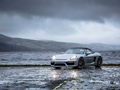 Dramatic car, dramatic scenery too...