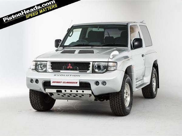 Re Mitsubishi Pajero Evolution Spotted Page 1 General Gassing