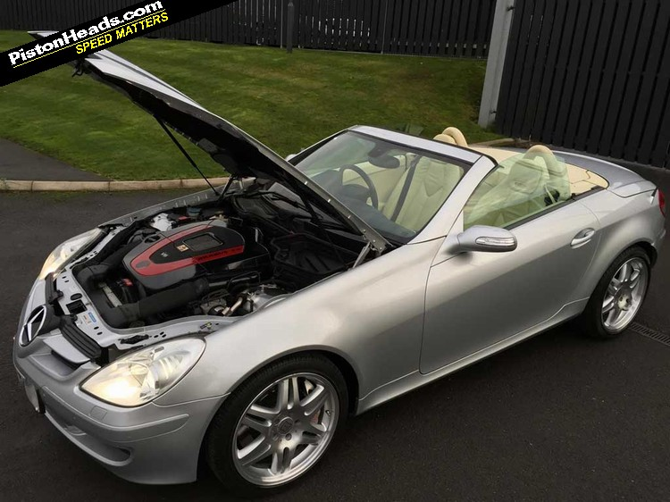 Re brabus slk 4 0 spotted page 1 general gassing for Mercedes benz slk brabus price