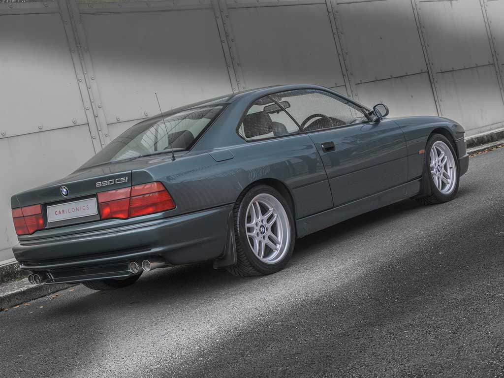 Apparently The Only Ascot Green CSi In RHD