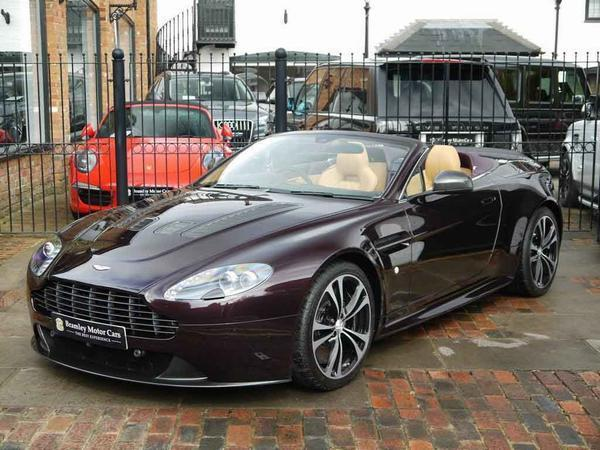 re: aston martin v12 vantage roadster: spotted - page 1 - general