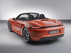 Boxster now either with a 2.0 or 2.5-litre flat-four