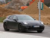 Porsche Panamera Shooting Brake spy shots