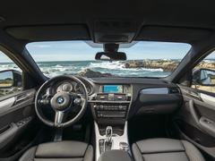 The X4's most appealing view by far
