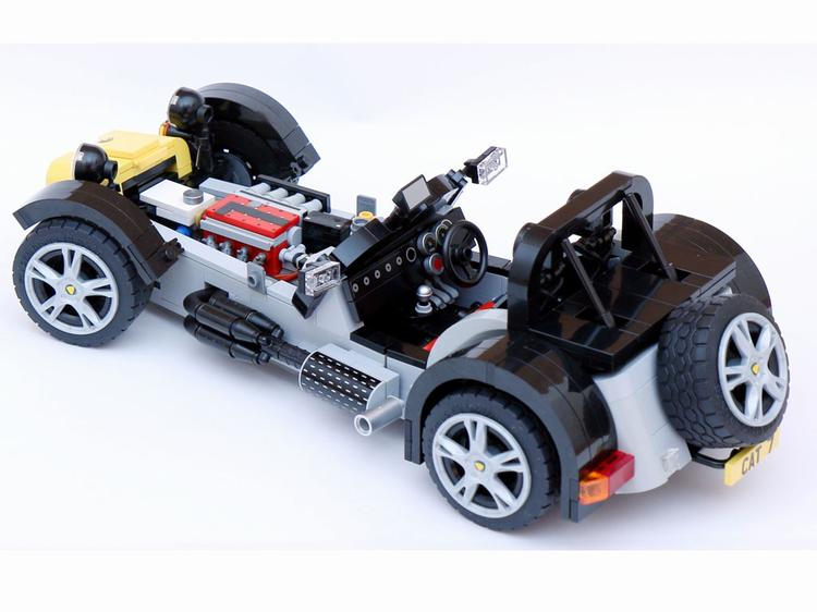 lego caterham approved pistonheads. Black Bedroom Furniture Sets. Home Design Ideas