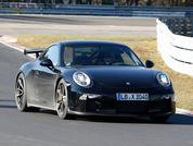 New 911 GT3 facelift test pics