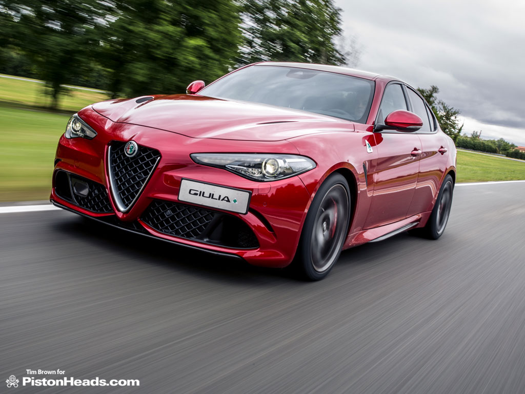Alfa Romeo Giulia Quadrifoglio Verde Driven Pistonheads Rear End Sod The Suspense Its Really Good
