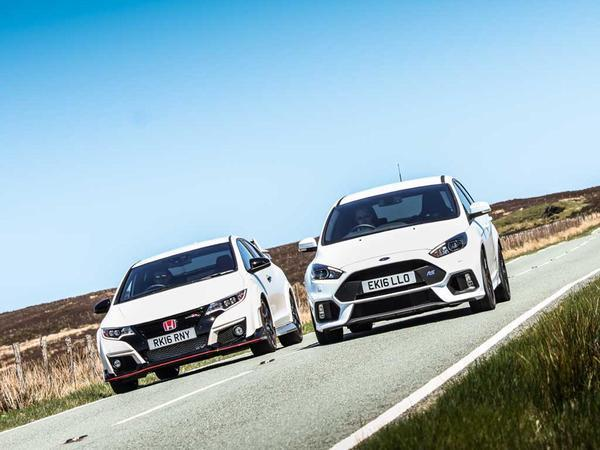 Ford Focus RS vs. Honda Civic Type R | PistonHeads