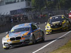 Sam Tordoff took the win in race two