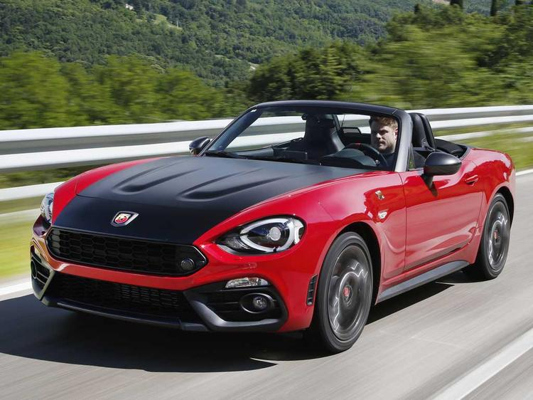 abarth 124 spider pricing confirmed uk. Black Bedroom Furniture Sets. Home Design Ideas