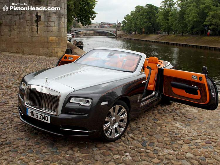 Rolls Royce Dawn Review Pistonheads