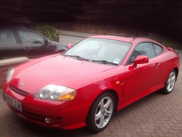 Shed Of The Week Hyundai Coupe
