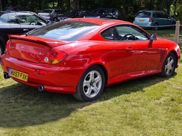 RE Shed Of The Week Hyundai Coupe