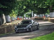 New Porsche Panamera at Festival of Speed