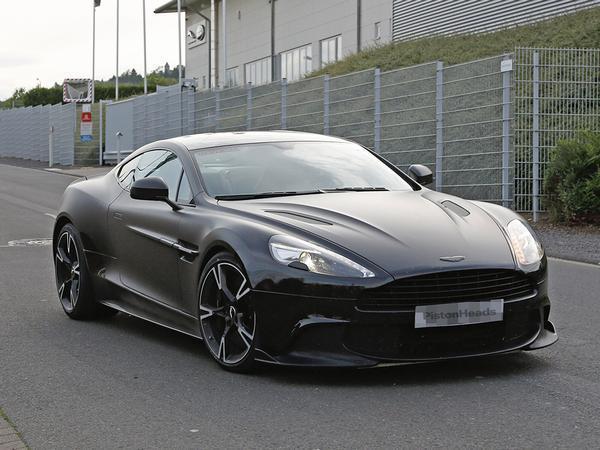 New Aston Martin Vanquish S Spy Shots PistonHeads - Old aston martin vanquish