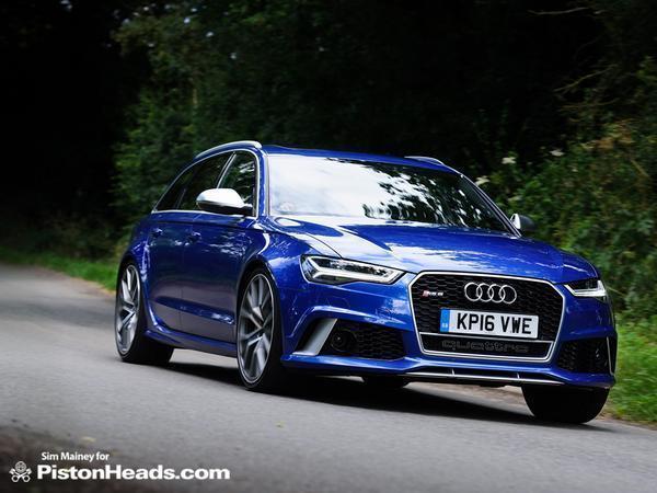 Audi RS Performance Review PistonHeads - Audi r6
