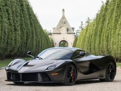 One of many, many Ferraris available