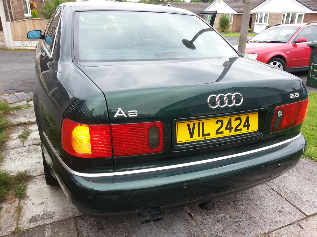 Shed Of The Week Audi A8 Pistonheads 2004 Front Bumper Conversion With Arrival This