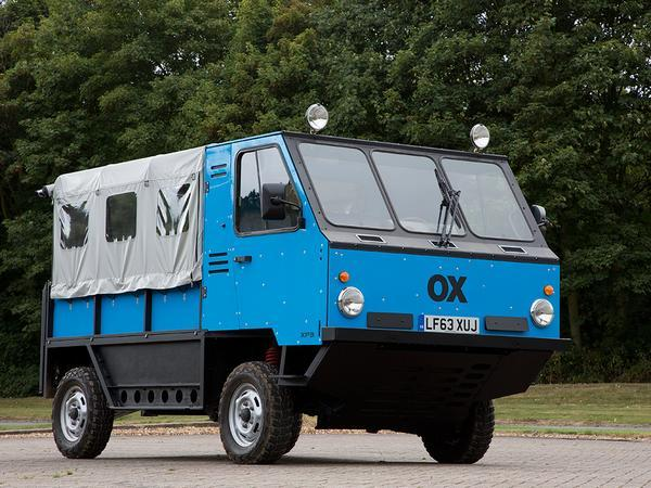 World's first all-terrain flat-pack truck folds in on itself