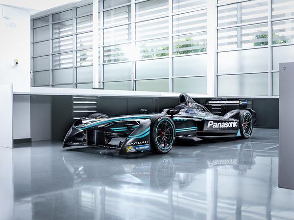 Jaguar unveil first Formula E challenger