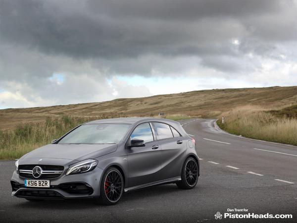 Mercedes Amg A45 Facelift Review Pistonheads