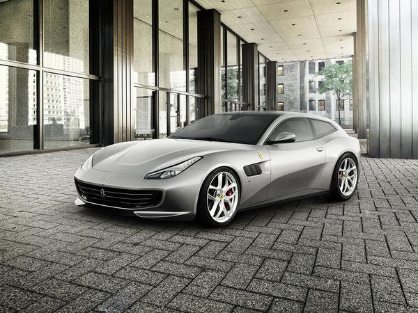 'Entry-level' Ferrari GTC4 Lusso T with turbo V8 heads for Paris