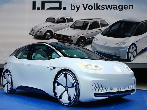 Golf but not quite a golf the i d is the first step in vw s plan