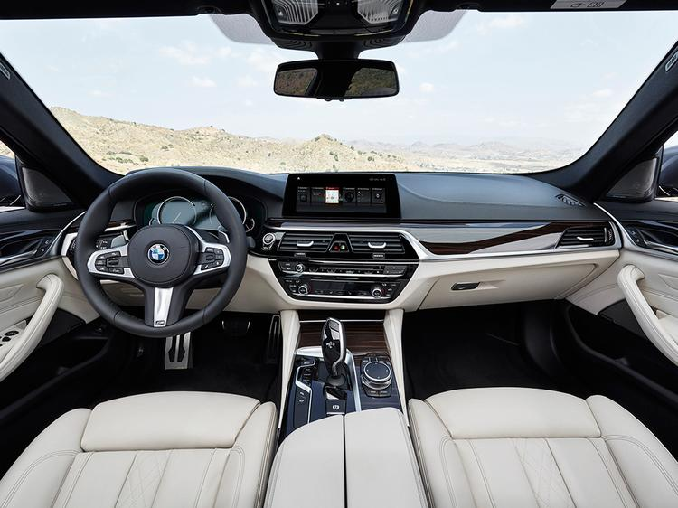 BMW 5-Series Offers Much Closer Look