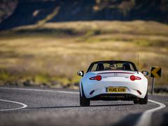 MX-5 really well suited to Iceland actually