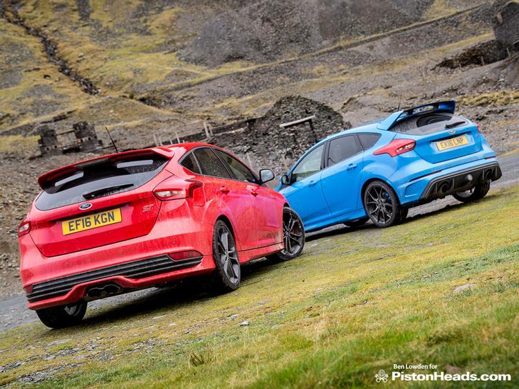 Ford Focus Rs Vs St >> Focus Rs Vs Focus St Ph Blog Pistonheads