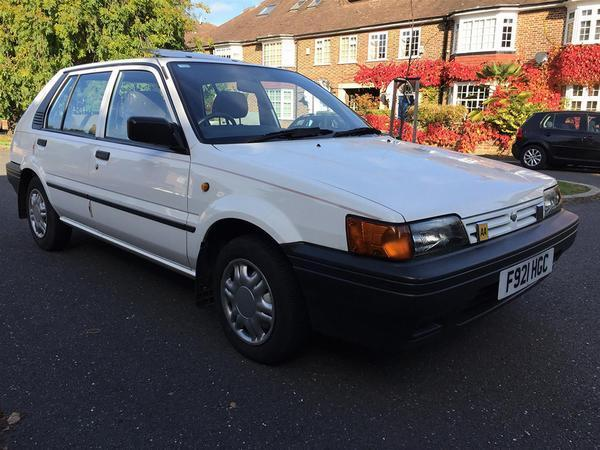 Shed Of The Week Nissan Sunny Pistonheads