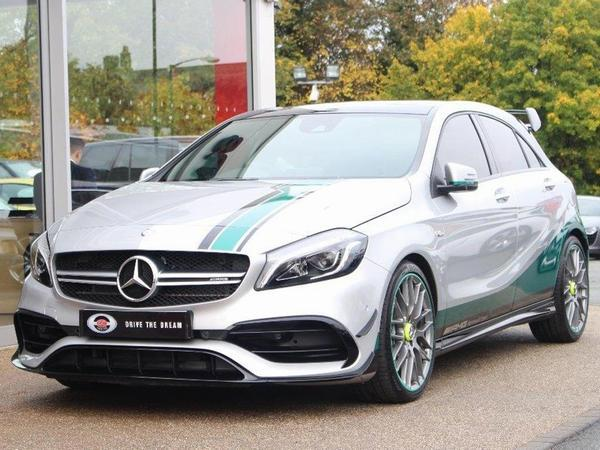 Mercedes amg a45 petronas spotted pistonheads for Mercedes benz petronas