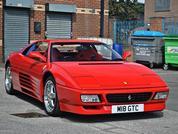 Ferrari 348 Competizione: Spotted