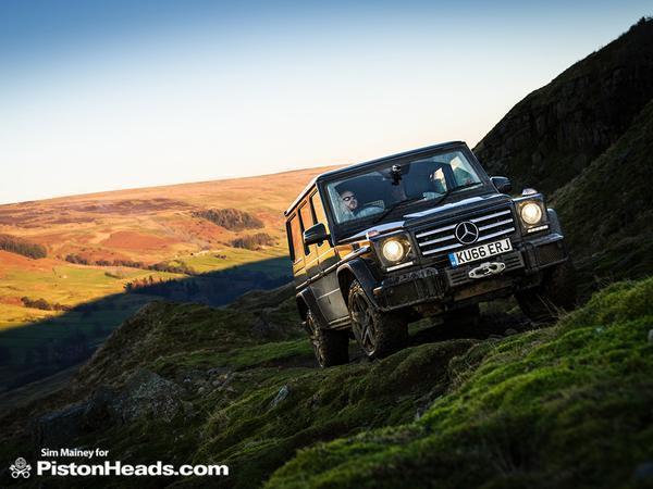 Mercedes G-Class versus Land Rover Defender | PistonHeads