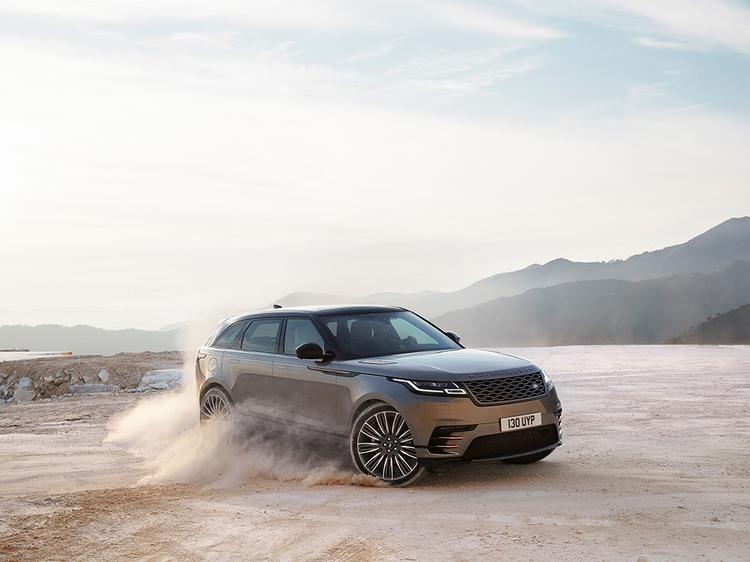 Land Rover unveils the new Range Rover Velar