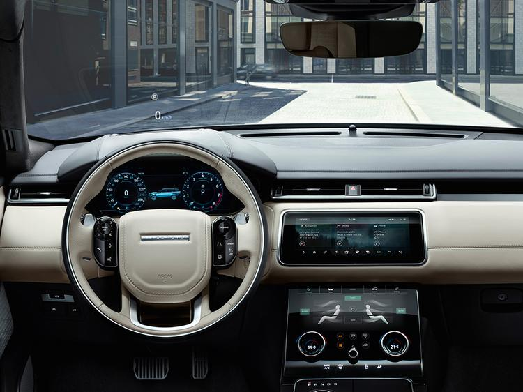 Land Rover unveils the new Range Rover Velar