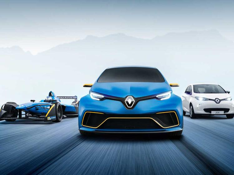 Green gets mean in Renault Zoe e-Sport Concept