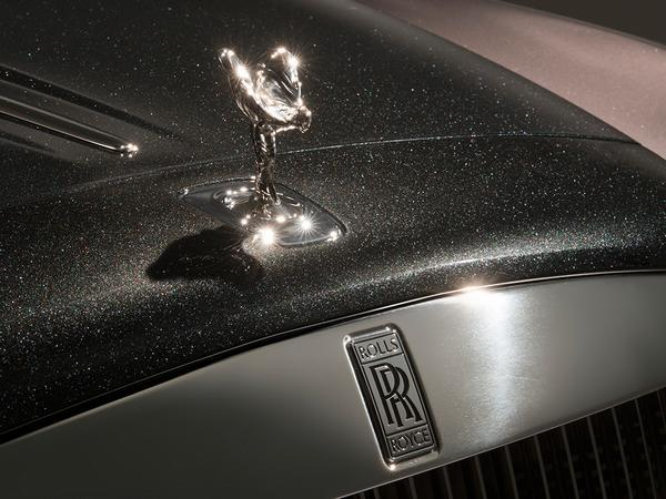 Rolls-Royce Ghost Elegance Coming To Geneva Painted With Actual Diamonds