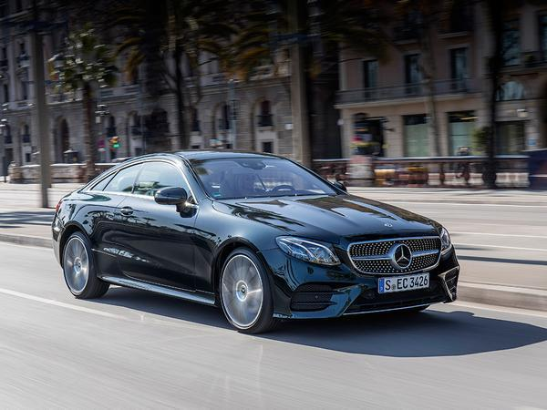 RE: Mercedes E-Class Coupe: Review - Page 1 - General Gassing ...