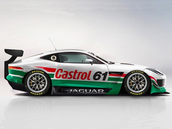 Jaguar Reportedly Developing F-Type for GT4 Series