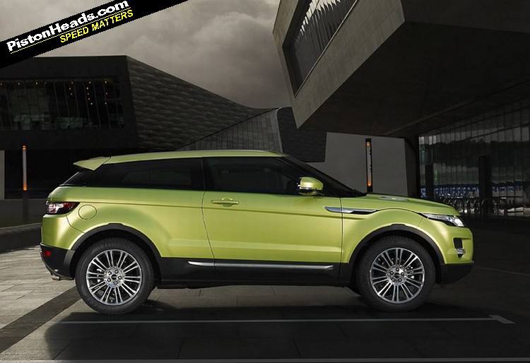 Range Rover Evoque Joins The Green Party