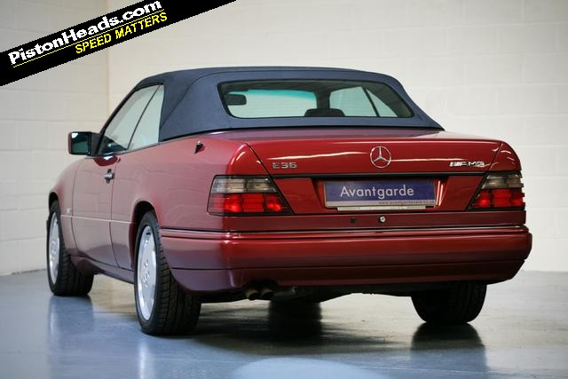 Mercedes E36 AMG Cabriolet | Keith Michaels Insurance