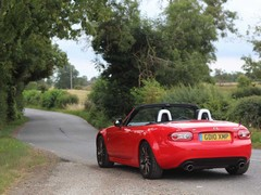 MX-5 and a B-road - match made in heaven!