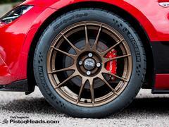 New brakes bring a weight saving too